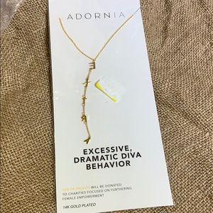 Adornia gold necklace. EXTRA